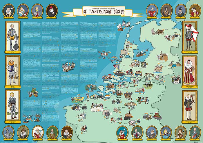 Poster 80-jarige Oorlog